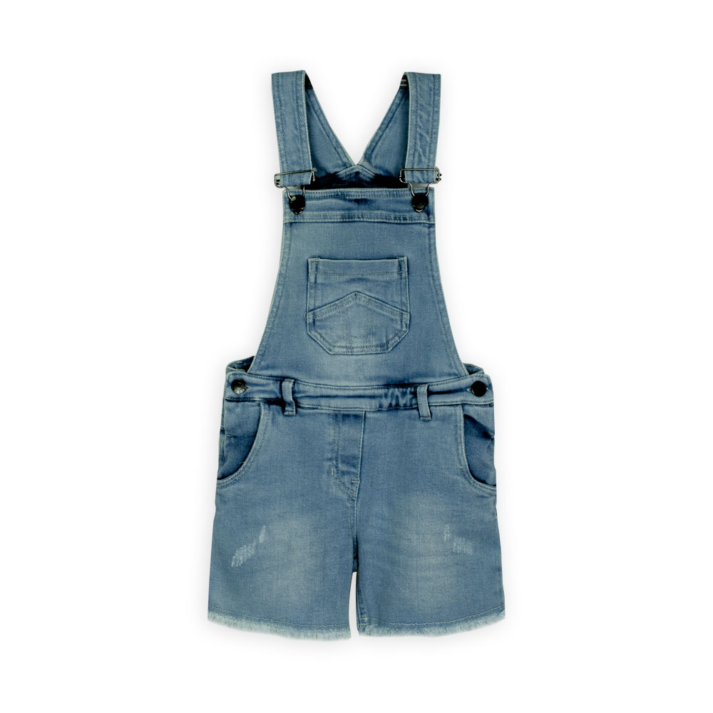 Jeans Girls Overall-Dark