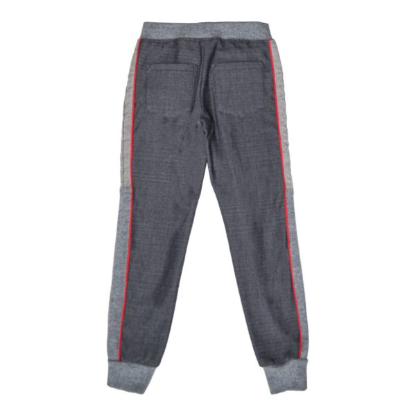 Textured Check boys Trouser